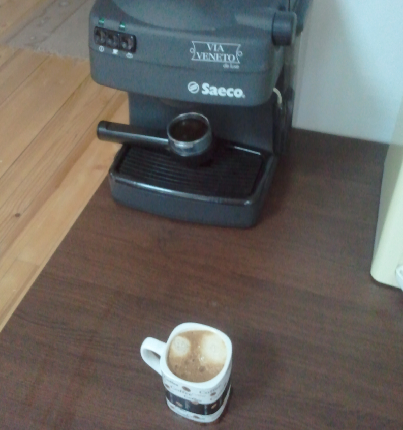 nova brasilia - bulgarian coffee brand and saeco coffee machine